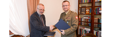 Agreement on cooperation between the Faculty of WSMiP of Jagiellonian University and the WITU in Zielonka